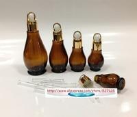 оптовая продажа, 20 мл коричневый grew формы Falcon-плащ, плащ контейнер, косметический контейнер, масло с огонь маслом, сканирования масло