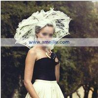 бесплатная доставка, мода кружева дизайн свадебный зонтик свадебные зонтик