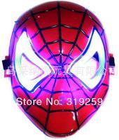 хэллоуин маска анимация мультфильм человек паук маска игрушки светятся свет паук маска