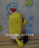 бесплатная доставка, 21 см губка боб брюки оруженосец игрушка, плюшевые куклы, мягкая игрушка, подарок на день рождения, подарок