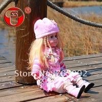 в реальном музыка игрушка-кукла, 24 дюймов кукла + розница и опт
