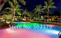 бесплатная доставка! изменение цвета Сид par56 из светодиодов бассейн светильник 25 вт РГБ