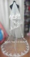 с 2 м вышивка край мода белый свадьба фата приоткрывает завесу