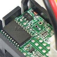 """5 шт./лот 2на1 напряжение тока монитор метр 0.28 """" постоянного тока 4.5 - 30 в / 10А красный / из светодиодов из светодиодов двойной дисплей вольтметр амперметр yb27va # 100173"""