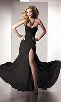 Romantic Meet полковник платье-линии печать платья милая длиной до пола без жестокой повар автобусы сплит классический ну watering платья