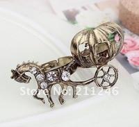бесплатная доставка новые мода кольцо ювелирные изделия горячая распродажа оптовая продажа личности ретро тыквы перевозки кольцо ювелирные изделия