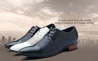 новинка свободного покроя мужские указал носком кружева - кожа оксфорды туфли прямая поставка
