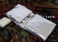 бесплатная доставка аварийного покрывало изоляции спасения одеяло выживания занавес милитари высокое качество i10899sl