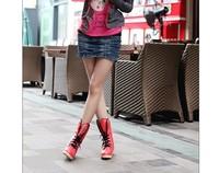 бесплатная доставка серии плоским дном одной ботинки корейской волны снегоступы конфеты цвет дамы хлопок теплый туфли