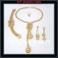 высокое качество цвета золота мяч кулон роскошные свадебные платья невесты костюм комплект ювелирных изделий