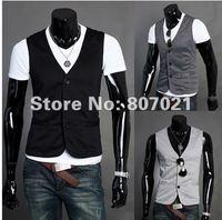 хан мужская одежда из развивать ma3 jia3 три зерна из кнопки маленький человек жилет