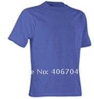 быстрый - сухой и воздухопроницаемый, пустой 100% полиэстер экипаж-образным шея футболки