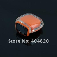 901747-СХ-098 новый жк запустить шаг шагомер счетчик калорий расстояние белый цвет оранжевый цвет случайный цвет бесплатная доставка
