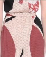 топ высокое качество женская мода дизайнер поп-идеально печати джерси шелковое платье платье плюс размер