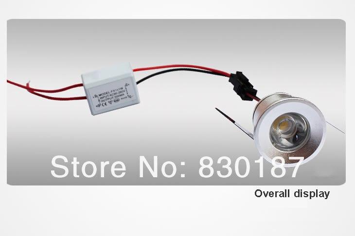 aliexpress koop mini spot led downlight dimbare 1 w 110lm