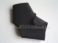 джеки ю . бесплатная доставка новый черный резинка защита на лодыжку спорт поддержка наспинный защитить передач