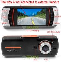 """F90 / f90g hd с двумя объективами автомобильный видеорегистратор двойная камера + h.264 + g-сенсор, 1920 x 1080 p 20fps 2.7"""" жк - / внешний камера заднего вида"""