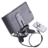 """7 """" TFT ЖК-2 вход заднего вида автомобиля подголовник монитор для DVD-видеомагнитофон, бесплатная доставка"""