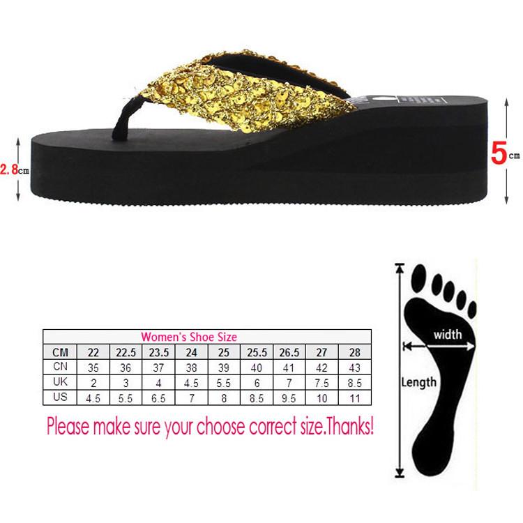 нью-леди блестки женщины-бич дома вьетнамки тапочки сандалии студенческие сандалии туфли шлепанцы бесплатная доставка 3033