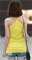 майка кружево жилет хлопка высокой упругой модальные г - слинг сексуальная конфеты цвет дна рубашки зря глобальная эпидемия