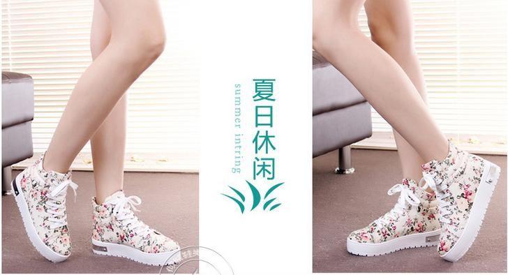 цветочные украшения женщины кроссовки, холст обувь, женщина квартиры, ее обувь, стиль сельский, зажгите под руководством шнурки обувь, женская женщины #46