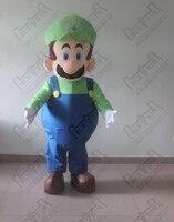 мультфильм зеленый луиджи марио талисман костюмы
