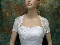 бесплатная доставка 100% гарантия кружево половина с длинным рукавом свадьба куртка / женский пак / bridalgown вечернее платье куртка