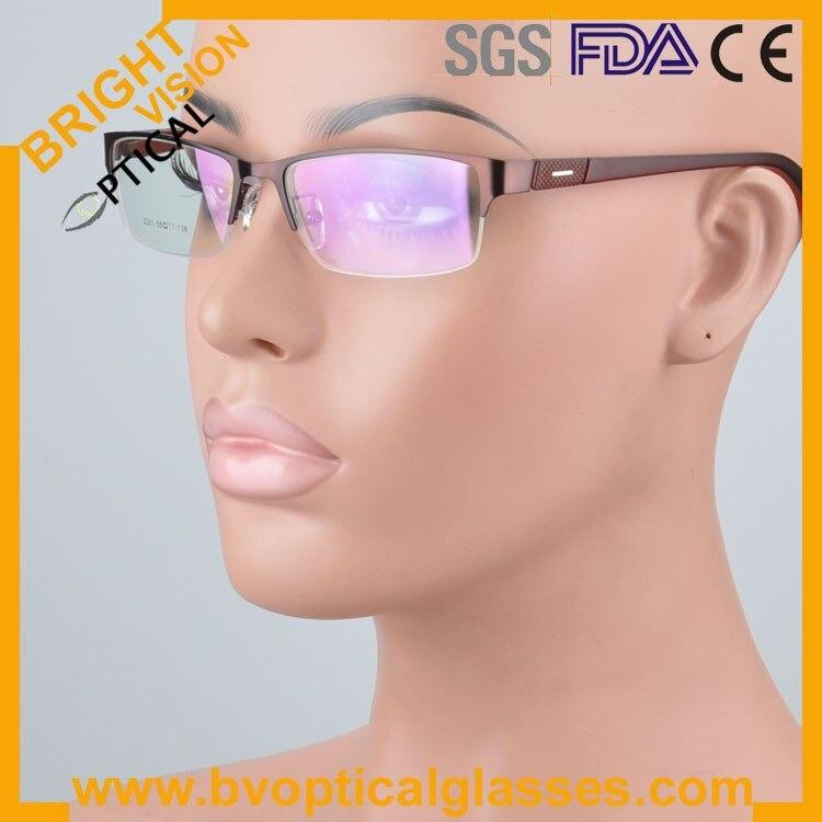 New model delicate half rim metal optical frames glasses2261ka