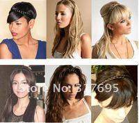 бесплатная доставка мода кос резинка для волос синтетический аксессуары для волос с повязка на голову цвет 30 33