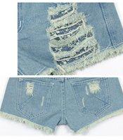 винтаж лето уникальный проблемные низкой талией джинсовые рваные короткие джинсы для женщин ad9290sk