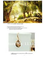 камень ювелирные изделия supee кристалл серьги-капельки женщины подарок австрия длинная клешня серьга