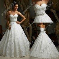 большой размер бесплатная доставка белое кружево свадебные платья с rustle Cher платье милая платье новейший