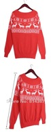 мода rods шеи экипажа снежинка Allen схема джемпер свитер топ ВФ-0033