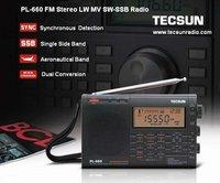 бесплатная доставка розничная торговля - оптовая продажа tecsun пл-660 ФМ стерео дв м . в . ео-в SSB pl660 FM-радио радио радио двухстороннее радио