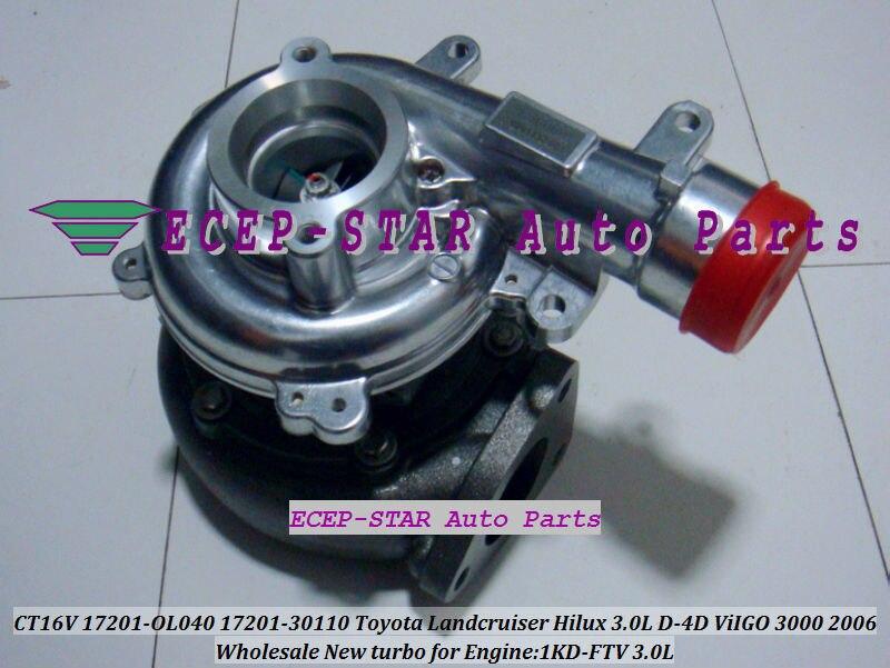 CT16V 17201-OL040 17201-0L040 Toyota Hilux 3.0LD ViIGO 3000 1KD-FTV turbo turbocharger (1)
