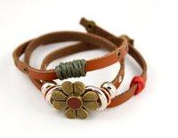 национальный стиль ретро цветок браслет браслет Cage ядер мода браслет лучший подарок s5080