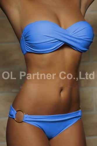650177519 446 Wholesale Newest Summer Sexy Bikini Women Swimwear Occidental Secret Beach Swimsuit Push Up Bathing Suits 12 Colors S To XL