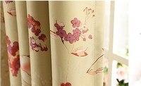 на ткань для штор небольшой чистый и свежий и гостиной - высокотехнологичной продукции шторы