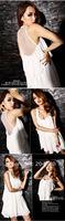 новый лето сексуальное шифон шифоновое платье клуб уровень чувство лотоса платье