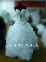 сексуальное милая декольте лучших заниженной талии бальное платье свадебное платье