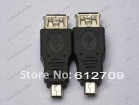 по USB к мини-адаптер конвертер USB кабель 5pin мужской кабель Б / М для MP3 и mp4, мини УСБ кабель 50 шт./лот бесплатная доставка и прямая поставка