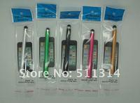 10 шт. / много многоцветный касание ручка для ёмкостный экран, универсальный стилус, для планшетный пк средняя площадку, с пакетами