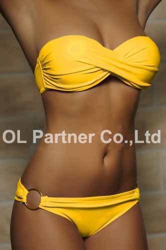 650177530 634 Wholesale Newest Summer Sexy Bikini Women Swimwear Occidental Secret Beach Swimsuit Push Up Bathing Suits 12 Colors S To XL