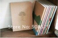 Новый винтажном стиле краски модель ноутбука / бумажная книга бумаги блокнот для дневника рождественские подарки