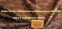 Boom стиль хлопчатобумажная ткань, 4 цвета уникальный пользователь печать своими руками ткань материал, хлопок текстиль