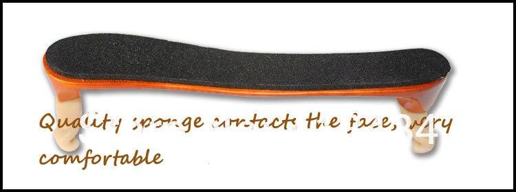חדש באיכות hight כינור כתף השאר מתכוונן 3/4 4/4 גודל