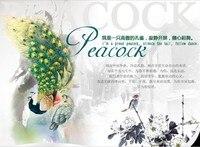 бесплатная доставка 442 национальный ветер экзотические австрийский хрусталь цвет полный горный хрусталь павлин браслет корейский ювелирных изделий