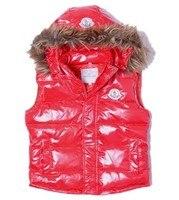 новый осень - зима жилет женская мода жилет для женщин с меховой шапке бесплатная доставка