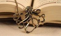 ретро осьминог длинные ожерелья ювелирные изделия x4084