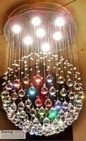 huizhuo освещение ] 7 огней всех удобств и магазинов хрустальная люстра освещение, лампы внутренней отделки